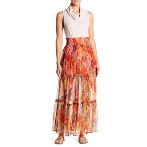 Small/Medium Free People Great Escape Maxi Skirt
